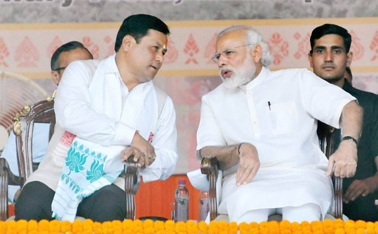 Sarabananda Sonowal, Sonowal, Assam Chief Minister, Assam Chief Minister Sonowal, Assam, Assam yoga day, Assam international yoga day, international yoga day, international yoga day assam, IYD, Iyd assam, assam news, india news