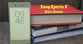 Sony Xperia X Video Review