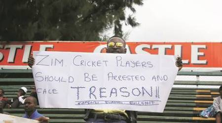 Ind vs Zim: Betrayed fans vent ire after another'no-show'