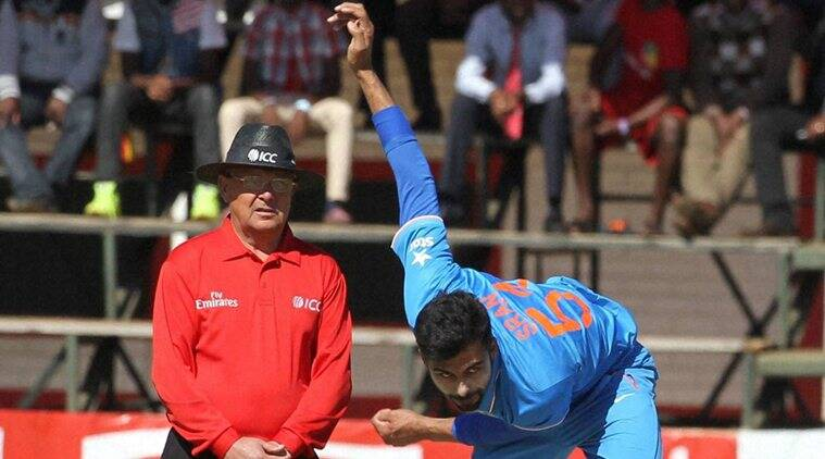 Sran returned the best figures by an Indian debutant in T20 Internationals. (Source: AP)