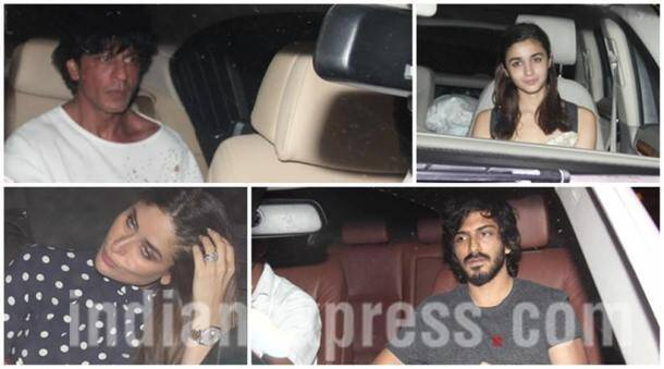 Udta Punjab cast Shahid, Alia, Kareena, with SRK, Harshvardhan Kapoor at Karan Johar's party
