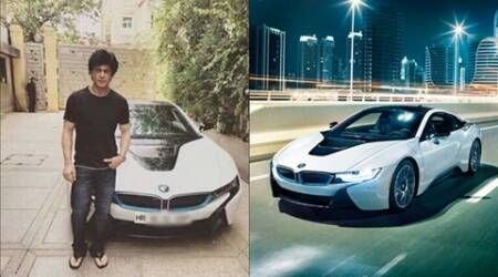 Check out Shah Rukh Khan's cool new car — the BMW i8, as King Khan takes it out for a spin