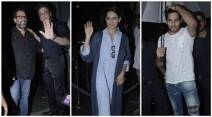 Shah Rukh Khan, Anand L. Rai birthday bash, Anand L. Rai, Anand L. Rai birthday photos, Anand L. Rai birthday, Anand L. Rai birthday PARTY, Anand L. Rai FILMS, DIRECTOR Anand L. Rai, Kangana Ranaut, Sidharth Malhotra, Huma Qureshi, Saqib Saleem, entertainment photo