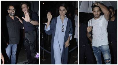 SRK, Kangana, Sidharth Malhotra and others at Anand L. Rai's birthday bash