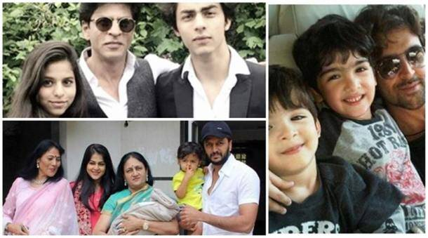 happy father's day, father's day, bollywood fathers, father's day wishes, father's day pics, Shah Rukh Khan, Riteish Deshmukh, Riteish Deshmukh kids, Abhishek Bachchan, Amitabh Bachchan, Abhishek Bachchan daughter, aaryan khan, Saif Ali Khan, suhana khan, Shah Rukh Khan kids, srk kids, entertainment photos