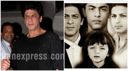 Shah Rukh Khan, srk, aryan khan, abram, srk sons pics, srk sons, Shah Rukh Khan father, Shah Rukh Khan son, srk son aryan, entertainment news