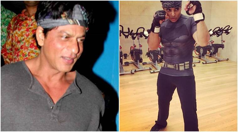 Superstar Shah Rukh Khan threatened actor-producer Uday Chopra to get him armours of superheroes