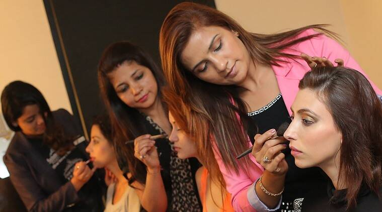 hair styling courses london career after class 12 become a make up artist or hair 6347 | star salon n academy during academy session 759