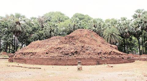 Maharashtra, Buddhist stupa, Nallasopara, Sopara or Shurparka, Boddhisat Suparaka, hotbed of Buddhism, Gautam Buddha, Pandit Bhagwandas Indraji, Burud Rajacha Kot, the Fort of the Basket-making King, Maharashtra news, latest news, India News