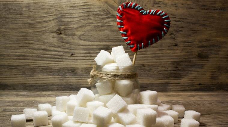 Sugar, sucrose, health problems, health issues, heart disease, heart risks, health concern, smoking, indian express news