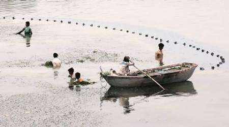 Cleaning Sukhna Lake 'top priority' forChandigarh