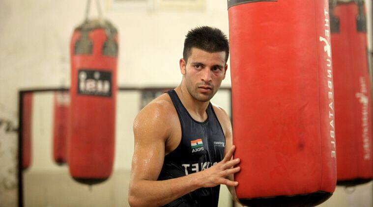 Sumit Sangwan, Sumit Sangwan India, India Sumit Sangwan, AIBA, Olympic qualification, sports news, sports, boxing news, Boxing