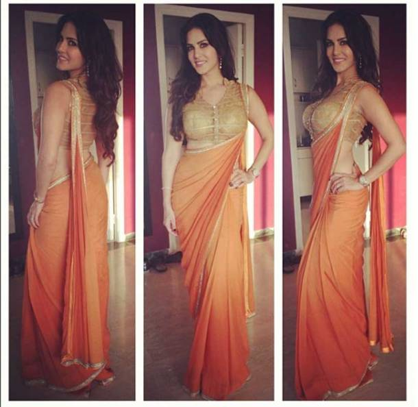 sunny leone, sunny leone photos, sunny leone sari photos, sunny leone in sari, sunny leone pics, sunny leone pics in sari