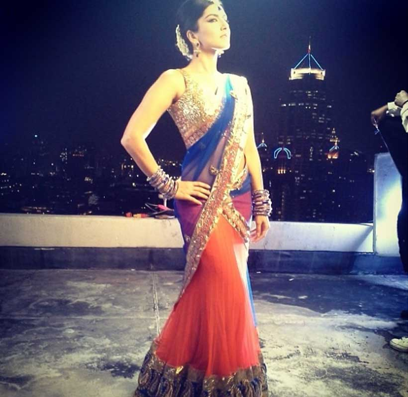 Sunny Leone Goes Ethnic 10 Times She Looked Gorgeous In A Sari
