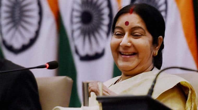 sushma swaraj, sushma swaraj, tn fishermen, fishermen arrest, fishermen released, fishermen sri lanka, tn fishermne sri lanka, sri lanka fishermen arrest, external affairs minister sushma swaraj, india news