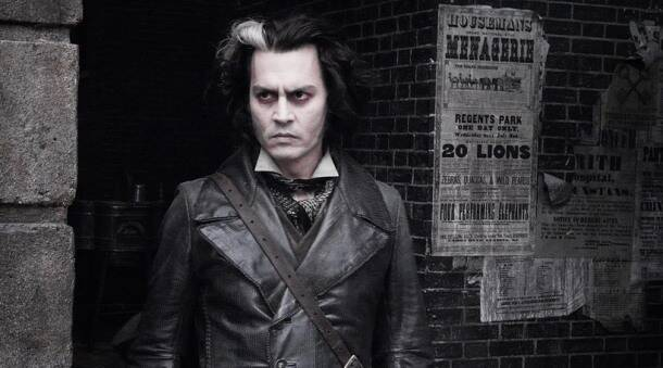 Depp, Johnny Depp movie looks, Johnny Depp makeup, Johnny Depp in prosthetics, Tim Burton, Johnny Depp's crazy looks, Johnny Depp craziest looks, Johnny Depp eccentric looks, captain Jack Sparrow, Willy Wonka, Sweeney Todd, Mad Hatter,