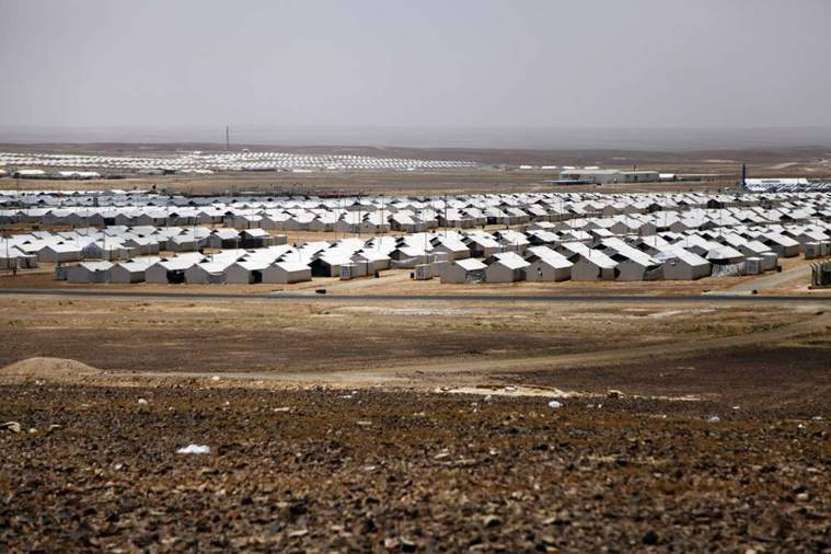 Syria, Jordan, Azraq Refugee Camp, UN, World news, Jordan security fears, Syrian refugees Jordan, refugee restrictions, U.N.-run camp, A barbed wire-topped fence, Syria Jordan, Azraq Refugee Camp Syria, Azraq Camp Jordan, Refugee Camp Jordan, Syria Refugee Camp