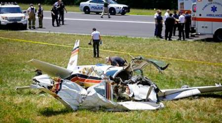 Tennessee: Two dead and two injured in plane crash