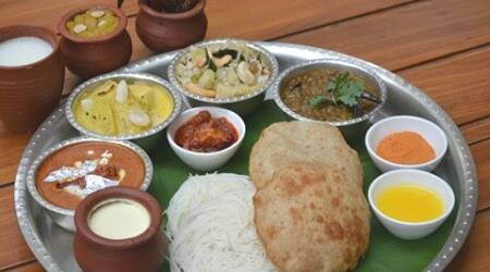 thali, Indian thali, traditional thali, Bengali thali, origin of thali, thali arrangement, how to arrange traditional thali,