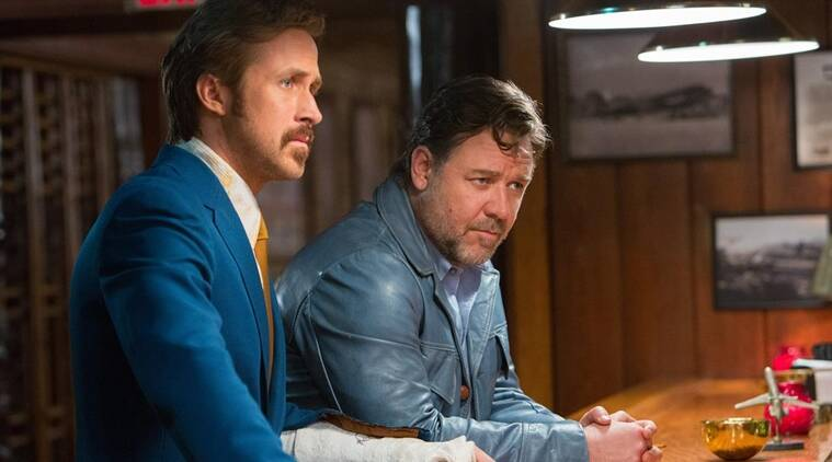 The Nice Guys, The Nice Guys movie review, The Nice Guys review, Russell Crowe, Ryan Gosling, The Nice Guys film stars, The Nice Guys ratings, The Nice Guys film review, The Nice Guys movie ratings, The Nice Guys movie, Russell crowe The Nice Guys review, Ryan Gosling The Nice Guys review, Russell crowe The Nice Guys movie review, movie review, review