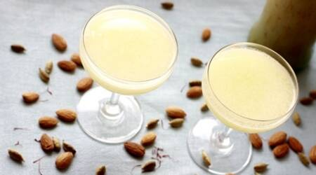 Make this cooling almond sharbat this summer