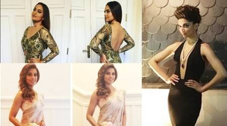 Deepika, Bipasha, Sonakshi: From plunging necklines to pastel saris, here's what the stars wore on Day 2