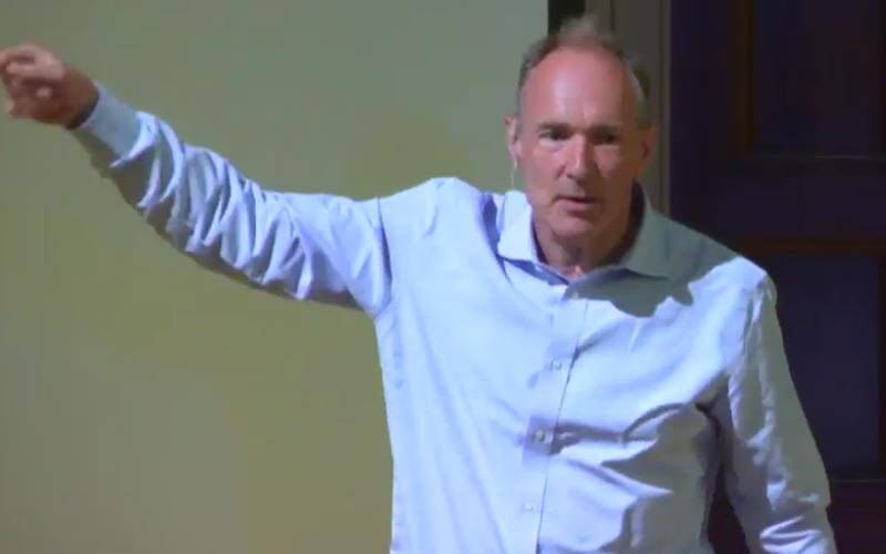 Tim Berners-Lee, Tim Berners-Lee founder of web, Decentralised Web, Decentralized Web Summit, Vint Cerf, Tim Berners-Lee Web 2.0 project, Open web project, WWW vs Internet, technology, technology news