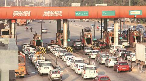 National Highway Authority of India, NHAI, Chandimandir toll plaza, chandigarh news, NHAI fine, NHAI encroaches forests, forest dept vs NHAI, NHAI news, india news