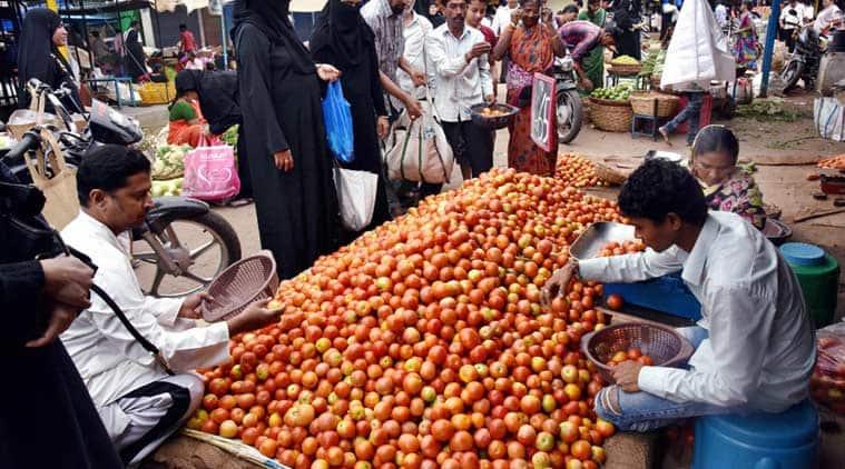 tomato, tomato price, tomato price rise, inflation, food inflation, food price, vegetable price, vegetables, india news, indian express
