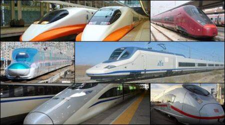 Top ten fastest trains in the world