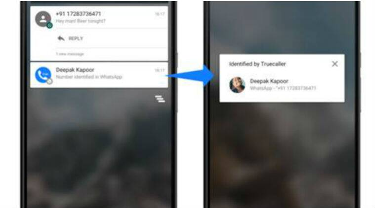 Truecaller will now identify unknown senders on WhatsApp