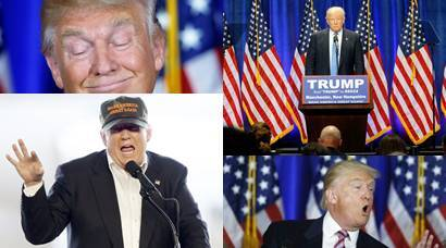 Donald Trump turns 70: His 10 comical expressions