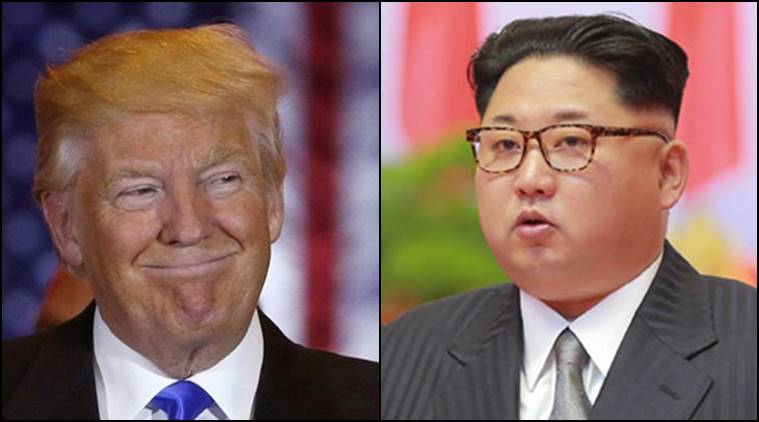 Donald Trump News, US news, China, North Korea, Kim Jong-un and Donald, Korean Missile Test, South Korea, Indian Express News, India News