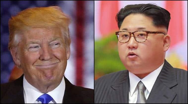 Donald Trump News, US news, China, North Korea, Kim Jong-un and Donald, Korean Missile Test, South Korea, Indian Express News, India News