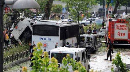 Turkey, turkey Attack, Turkey blast, turkey car blast, turkey blast news, turkey news, istabbul car blast, istanbul blast, Turkey car Bomb, Turkey Bomb, Turkey rebel Attack, Turkey rebel Terrorist Attack, Kurdistan Workers' Party turkey Attack, World News, International News, latest news
