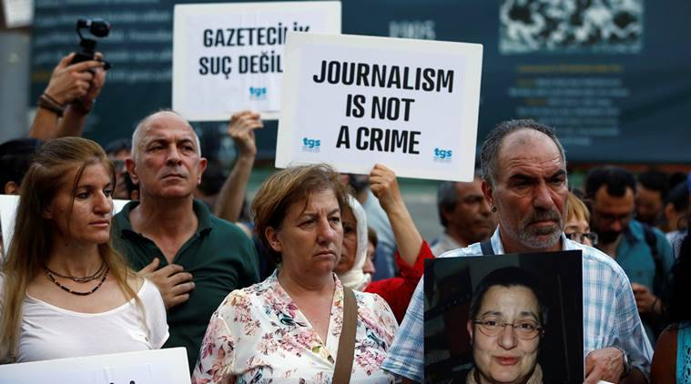 Echo of Moscow journalist attacked, Echo of Moscow, Russian journalist stabbed, Russia, Kremlin, Attack on Journalists,  Committee to Protect Journalists, World news, indian express news