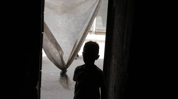 Sexual assaulter of Syrian children has been sentenced to prison for seven years (AP Photo/Lefteris Pitarakis)