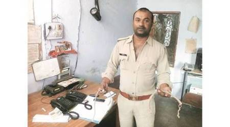 UP cop alleges DIG beat him for not picking up call