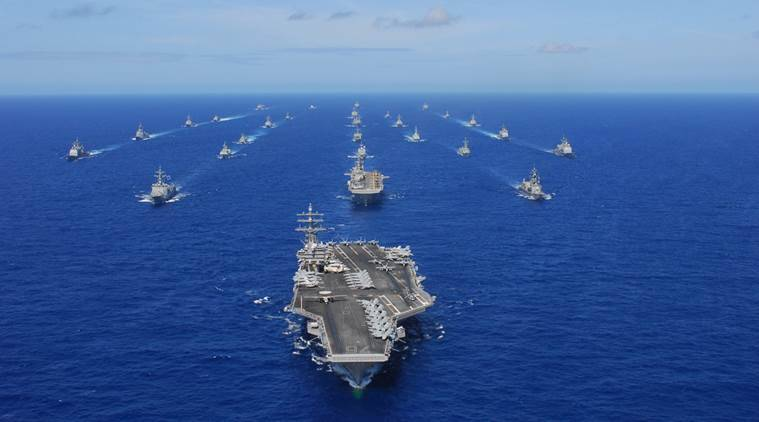 Act East Policy, India Act East Policy, Act East Policy India, Satpura, navy, Indian navy, Exercise RIMPAC 2016, news, India news, Hawaii news, national news, world news, latest news, navi India, Western Pacific Ocean, Hawaii, Observer, Observer 2016, Sahyadri, Hawaii Observer 2016