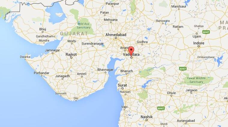 Vadodara city, Gujarat. (Source: Google Maps)