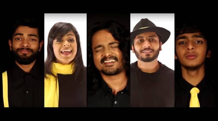Voctronica, Voctronica band, Voctronica a capella beatboxing band, #EveryCharacterMatters, Twitter, AIB, AIB classic Indian ads, Voctronica AR Rahman tribute, indie music in India