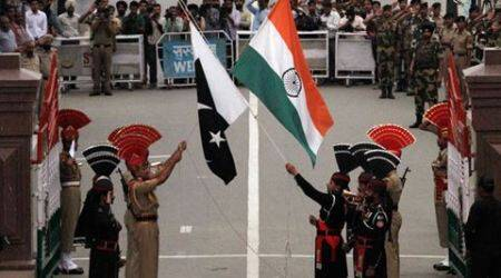 Stones thrown at Indian side during beating retreat at WagahBorder