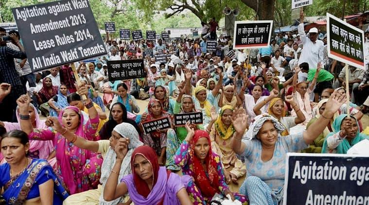 waqf, wakf, waqf tenants, wakf tenants, waqf act, wakf act, waqf protest, wakhf protest, Waqf properties, Wakf properties, delhi news, india news