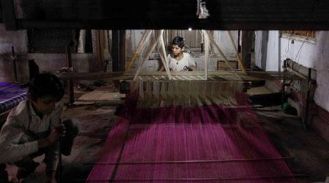 textile industry, epf textile industry, textile sectore specail package, india weavers epf, global textile market, india textile industry, india news, latest news, indian express editorial