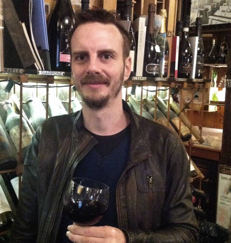 Wine historian Luca Bernardini.