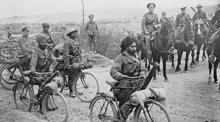 world war 1, first world war, Indian soldiers getting victoria cross, soldiers of the British Raj, indians in first world war, indian soldiers in world war 1, Foreign and Commonwealth Office, Britain digital archives, britiwsh digital archives, , indian contribution to first world war, Indians in british army, india gate, letters written by indian soldiers, Gandhi on first world war, native princes on first world war