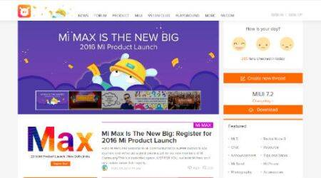 Xiaomi, Xiaomi Mi Max, Mi Community, Mi Max India, Mi Max launch, Xiaomi Mi Max features, Xiaomi Mi Max specifications, Xiaomi Mi Max price, smartphones, Android, technology, technology news
