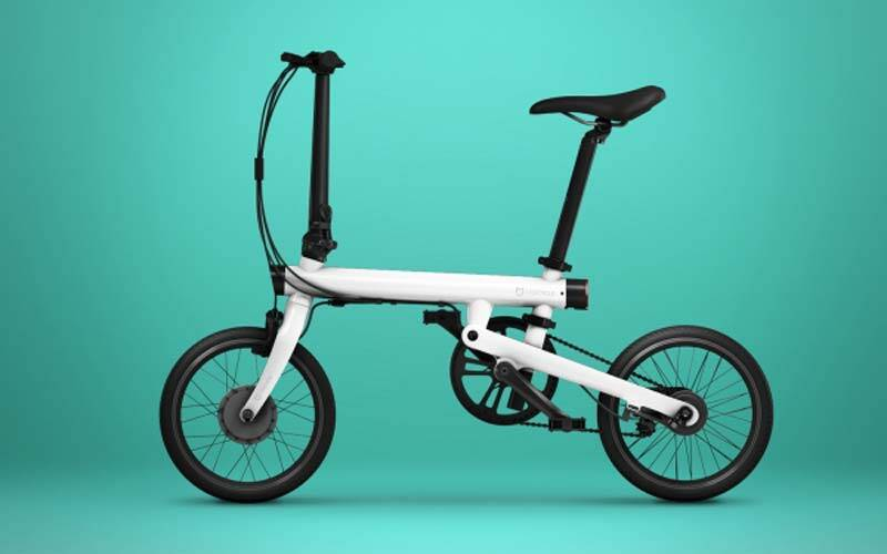 xiaomi qicycle smart electric flodable bike launched in. Black Bedroom Furniture Sets. Home Design Ideas
