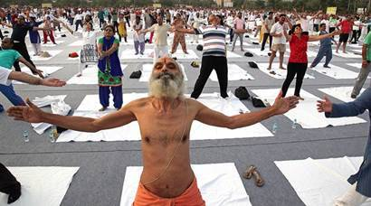 India gears up for International Yoga Day!