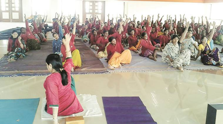 international yoga day, yoga, yoga posture, pranayam, yoga day celebration, benefits of yoga, pune yoga day, pune yoga, pune, pune news, indian express news, indian express yoga day